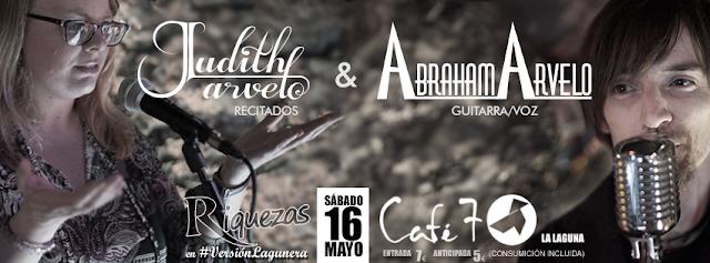Café 7. Judith & Abraham Arvelo el sábado 16 de mayo a las 21.30h.
