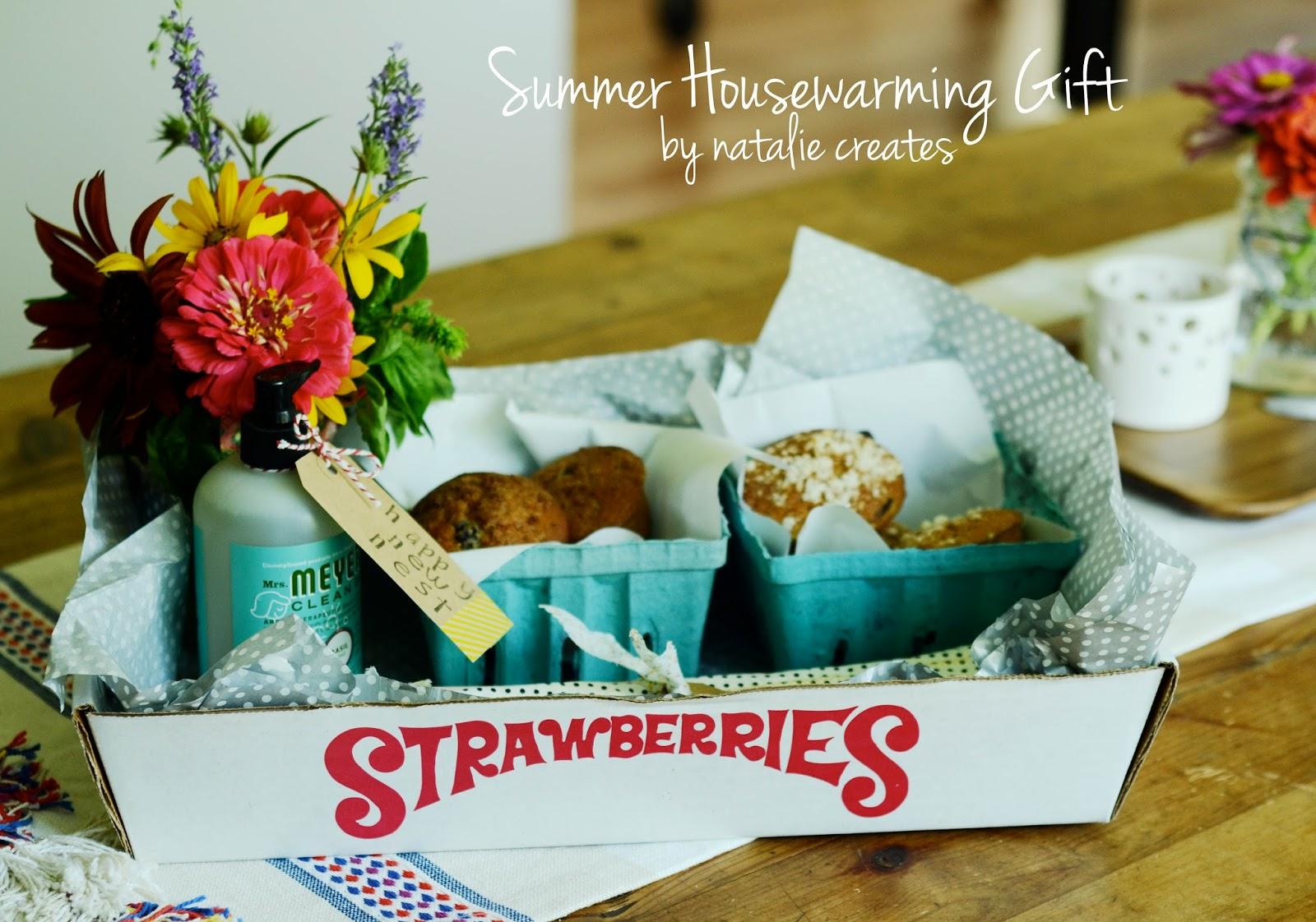 Summer Inspired Housewarming Gift Idea