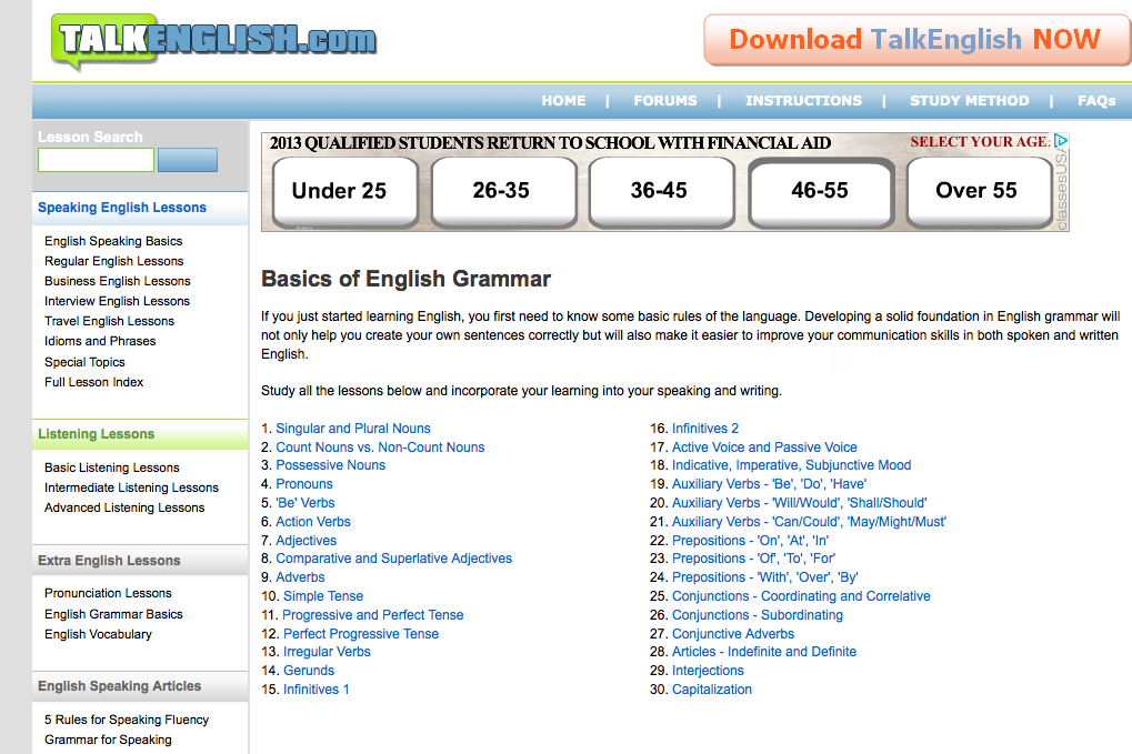 ESL Librarian: Best Grammar Sites for Advanced ESL EFL Students and ...