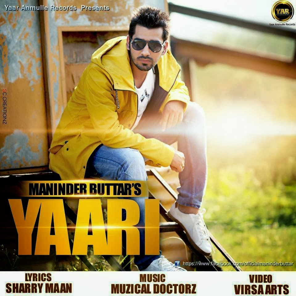 yaari maninder buttar sharry maan lyrics