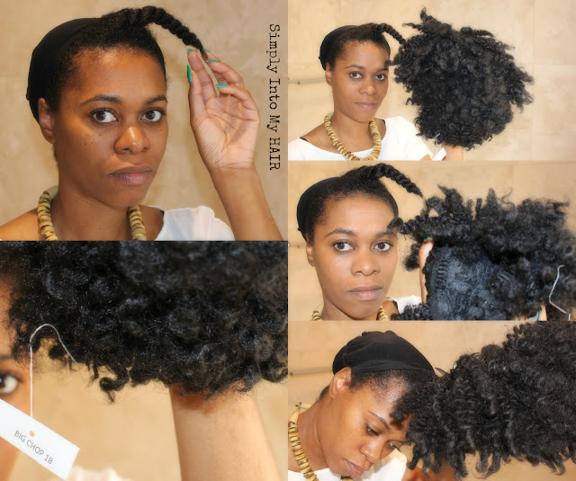 Toni Daley Big Chop Wig 4a, 4c natural hair HHJ Protective style