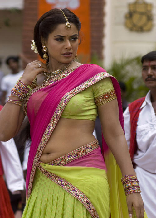 Sexy Women in  Sari