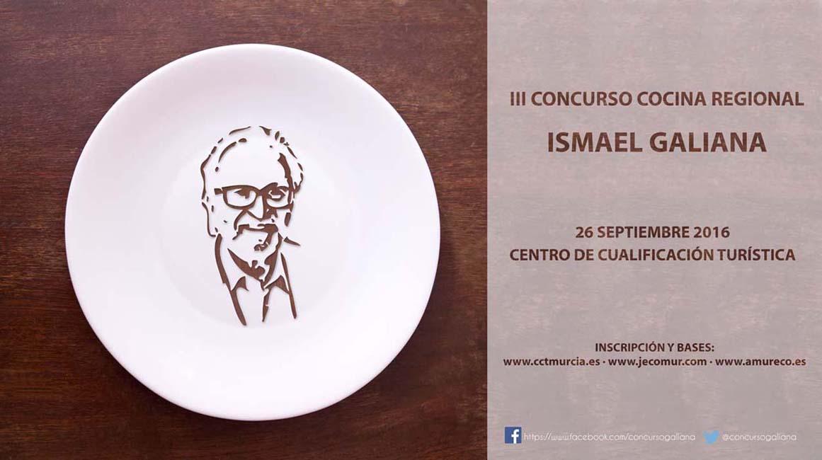 """Sorteamos dos entradas dobles para la Cena-Cóctel del III Concurso de Cocina Regional """"Ismael Gali"""