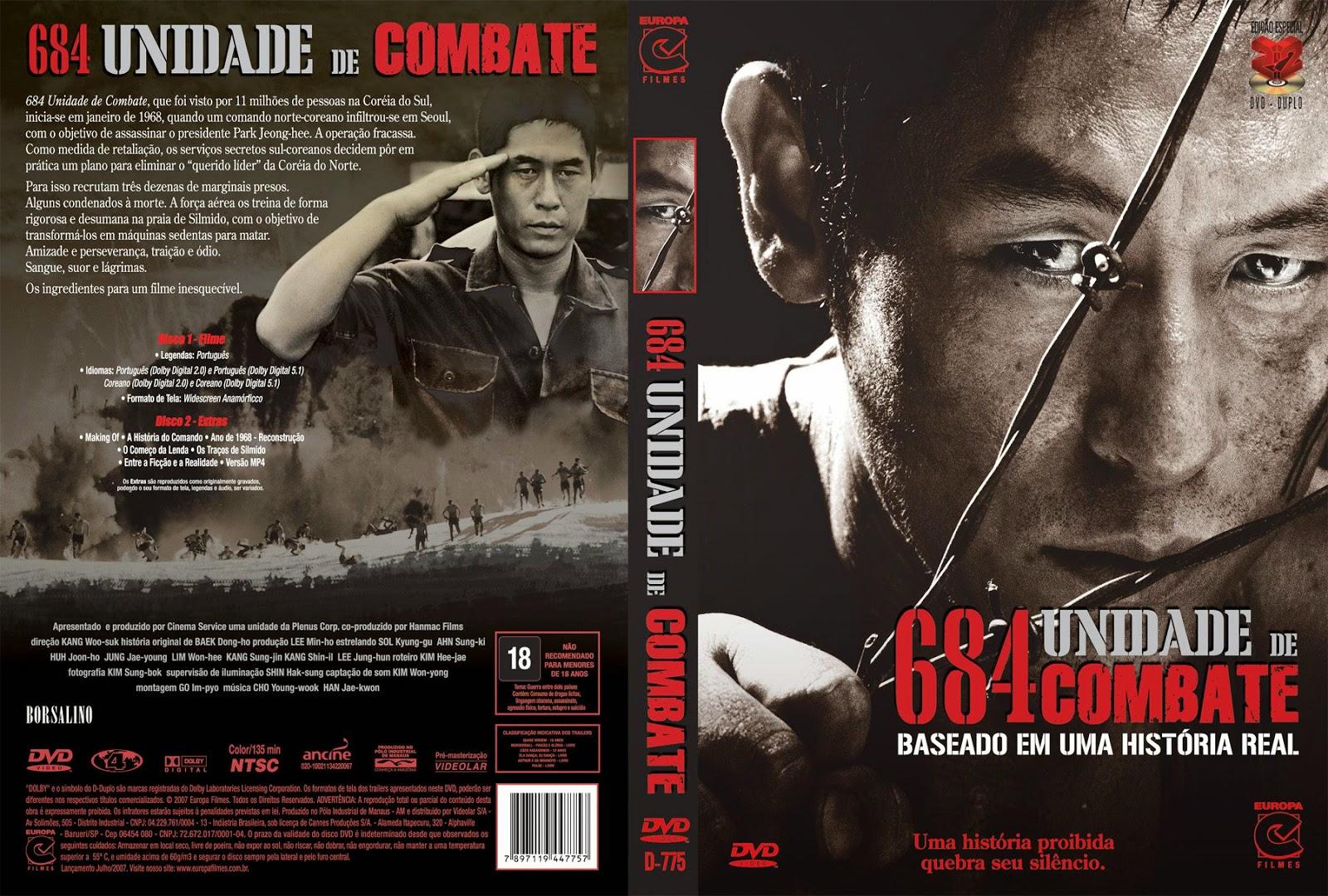 Capa DVD 684 Unidade De Combade