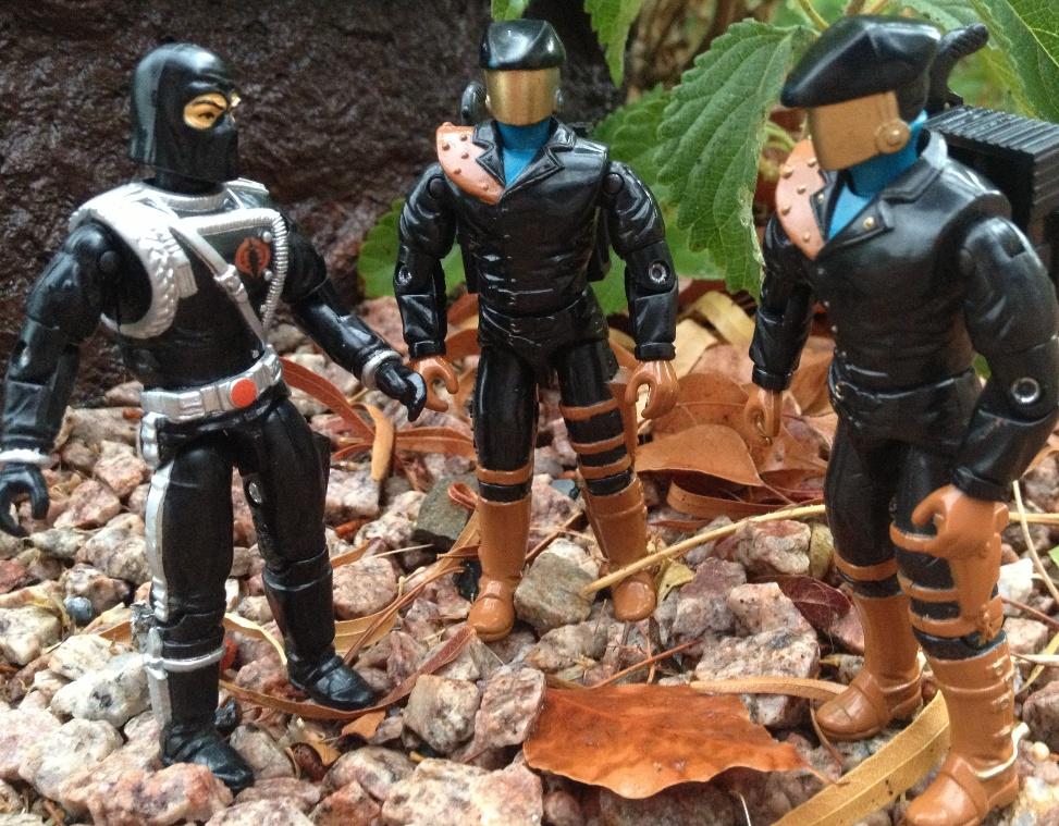 1992 Headhunter, DEF, 1993 Cobra Commander