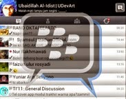 BBM Mod BlackBerry Theme Versi 8 2.5.1.46 + Bubble Chat