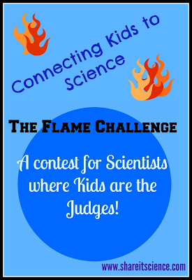 the flame challenge science contest