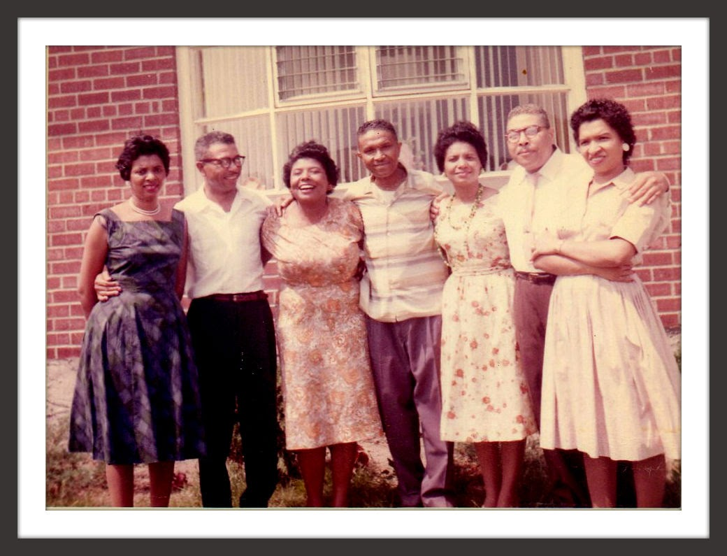 The Book Of Me: Prompt 60 --Family Traits --How Did I Get Here? My Amazing Genealogy Journey Rosa Bryant Sanders, Ray Bryant, Loris Bryant Gwyn Helton, Linwood Bryant, Mary Bryant Harrison Horton, Frank Bryant and Eloise Bryant Grigsby