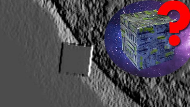 Ένας τεράστιος κύβος UFO παραμένει κοντά στον ήλιο μας γιατί;
