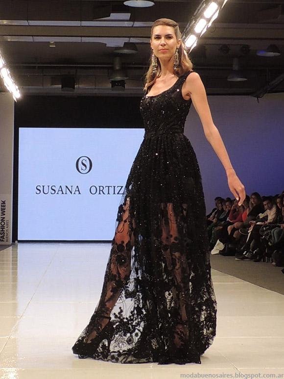 Vestidos de fiesta largos 2015, Susana Ortiz primavera verano 2015. Vestidos primavera verano 2015.