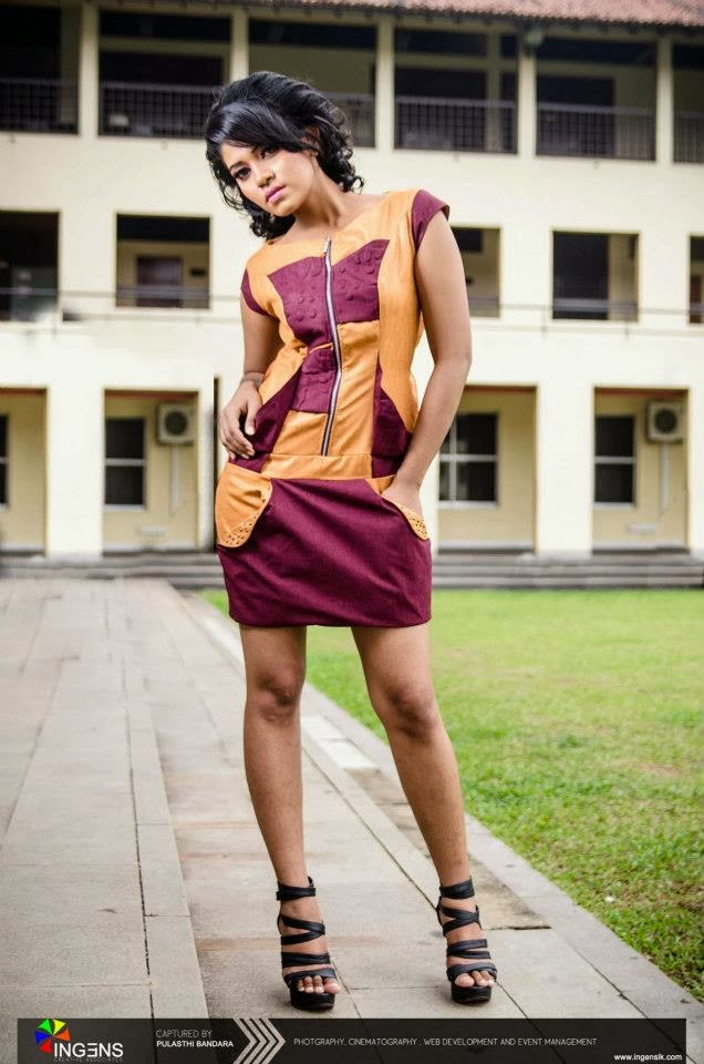 Piumee Vithanage short dress