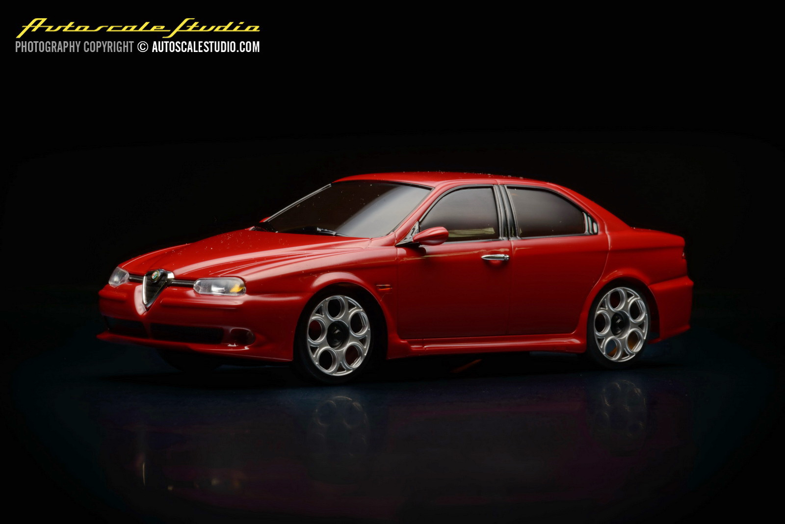 mzg106r alfa romeo 156 gta red autoscale studio. Black Bedroom Furniture Sets. Home Design Ideas