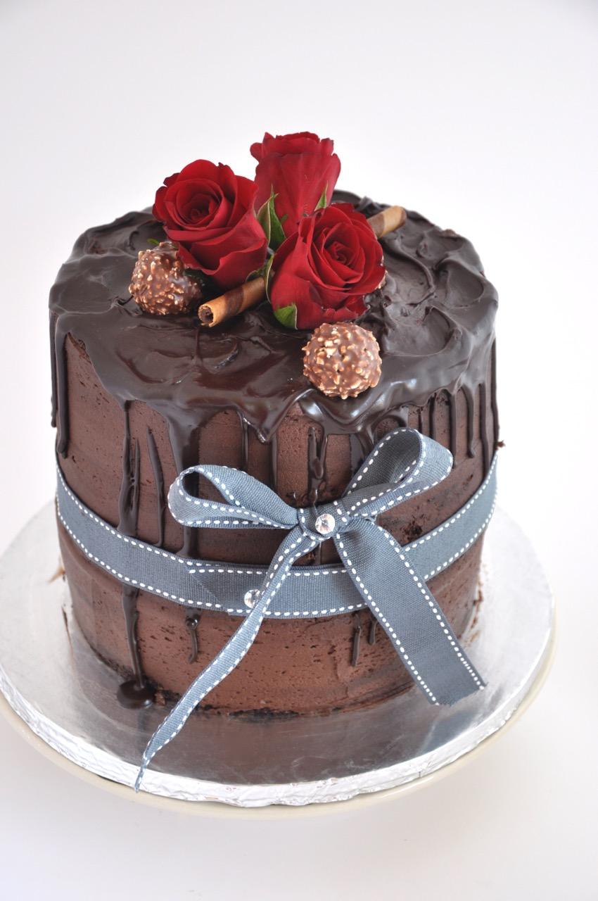 Rozannes Cakes Luxury Chocolate Birthday Cake