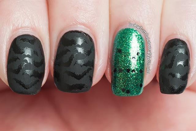 halloween nail art polish bats matte illamasqua swarm zoya