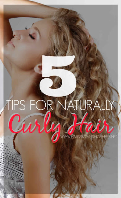 5 Tips for Naturally Curly Hair