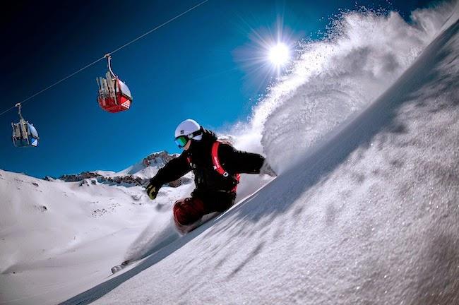 Valle Nevado Ski Resort no Chile