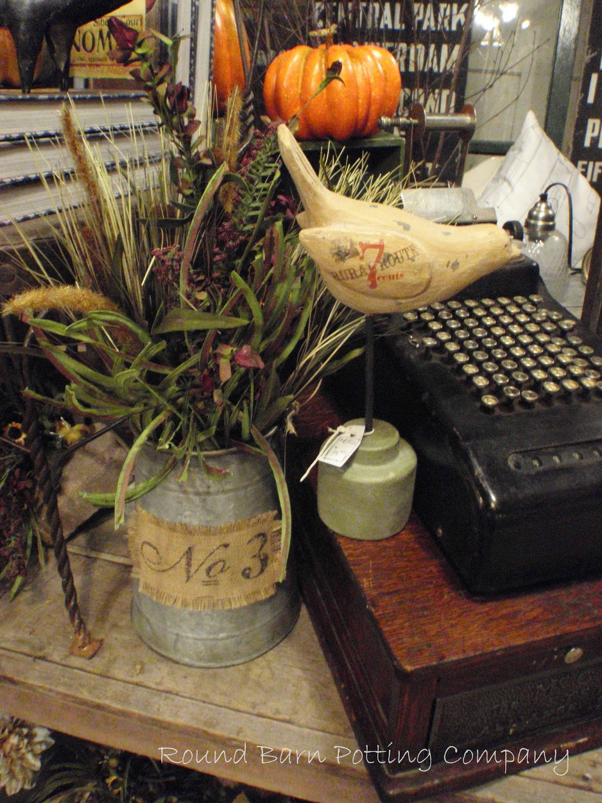 Lori Miller S Round Barn Potting Company More Fall