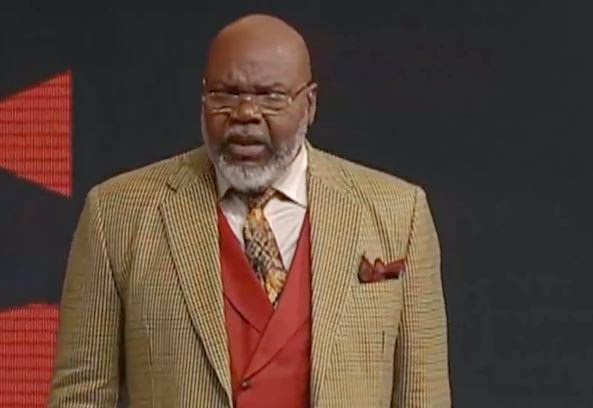 On this following video, Bishop TD Jakes talks about leaving the old ...