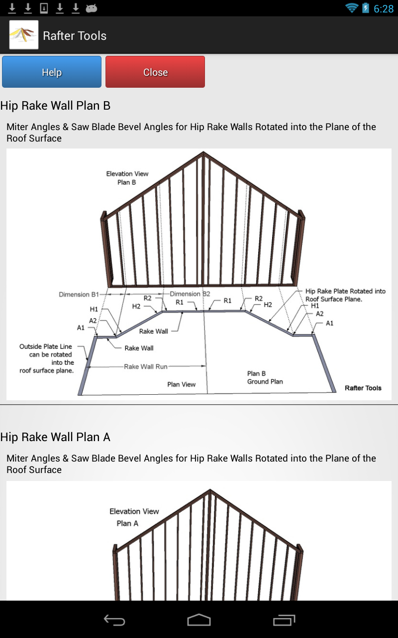 hip roof framing calculator - 28 images - roof framing geometry ...