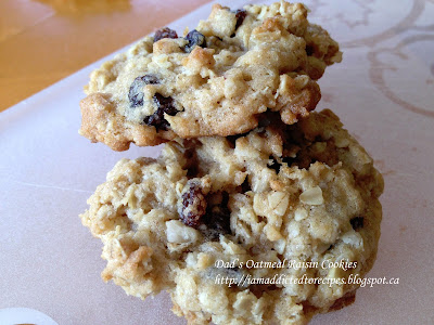 Oatmeal Raisin Cookies | Addicted to Recipes