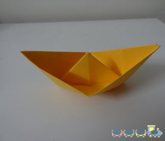 How To Fold A Paper Boat 9