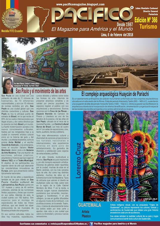 Revista Pacifico Nº 366 Turismo