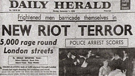 1980s Handsworth race riots