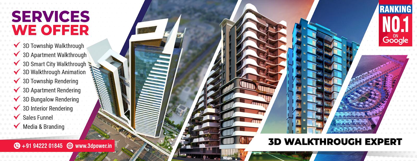 Corporate Building Design | 3D Rendering