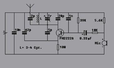 Schematic Wiring Diagram Mini Fm Radio Transmitter Circuit - Wire ...