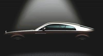 Rolls Royce Wraith (Ghost Coupe) Teaser Photo