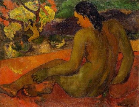 Mujer tahitiana