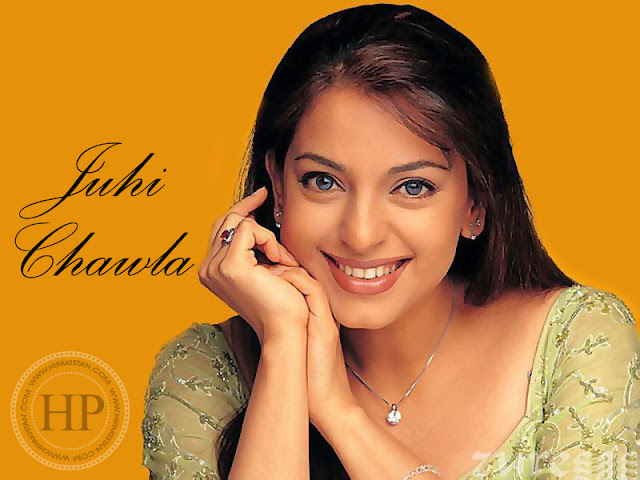 juhi chawla really cute smile very pretty