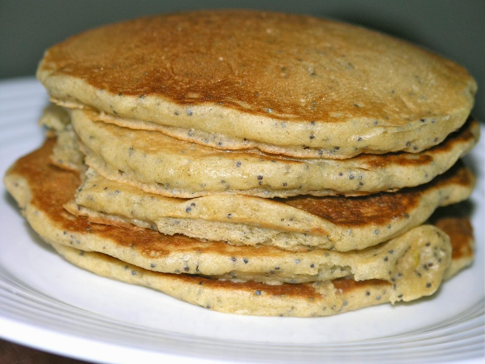 Life with JaM: Whole Wheat Lemon Poppyseed Pancakes with ...