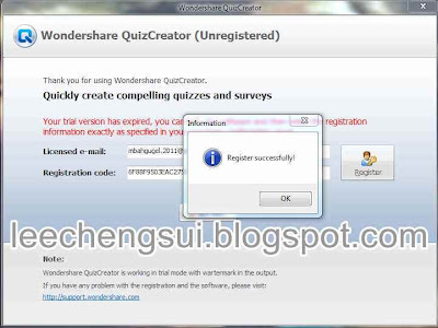 Wondershare QuizCreator 4.2.1.1 Software + Keygen (Serials)