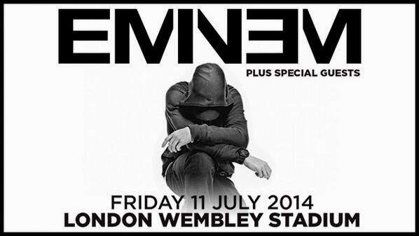 Eminem London Wembley Stadium July 2014