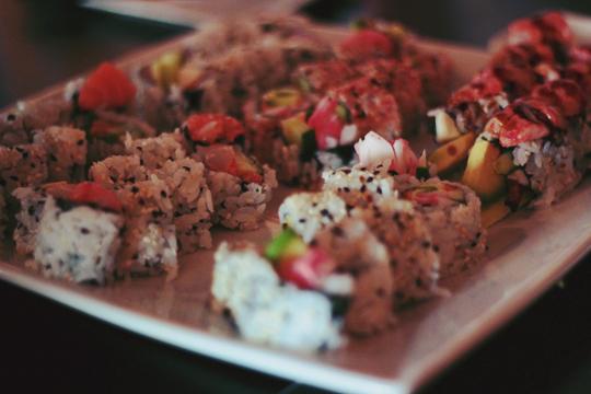 Shoga sushi forty-one south sagle