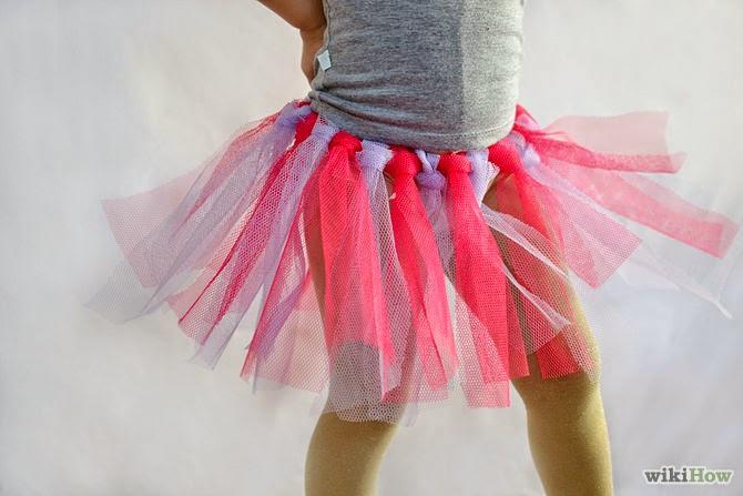 Как сделать самим юбку ту-ту