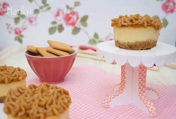 Receta de cheesecake de dulce de leche