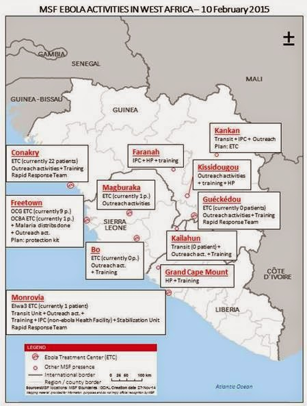 Latest Ebola Statistics From Medecins Sans Frontieres Doctors Without Borders MSF