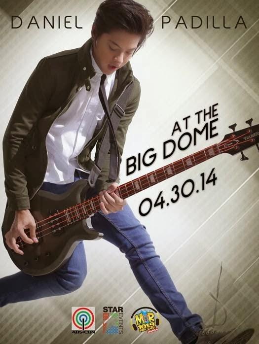 Daniel Padilla concert in Araneta