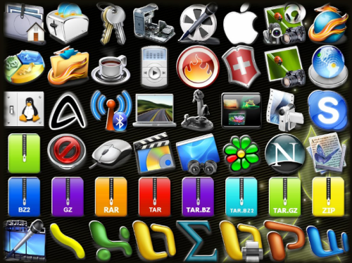 Tema ikon AdriX
