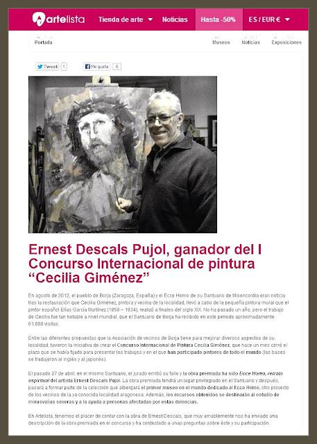 CONCURSO-PINTURA-ECCE HOMO-CECILIA GIMENEZ-NOTICIAS-ARTE-PREMIOS-ARTELISTA-PINTOR-ERNEST DESCALS