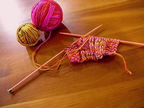 Avvio del lavoro a maglia