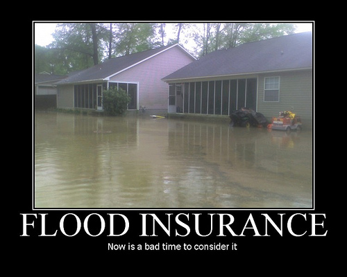 coastal and flood prone property owners to consider flood insurance