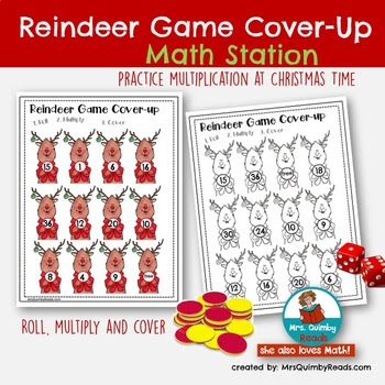 Reindeer Cover-Up Game
