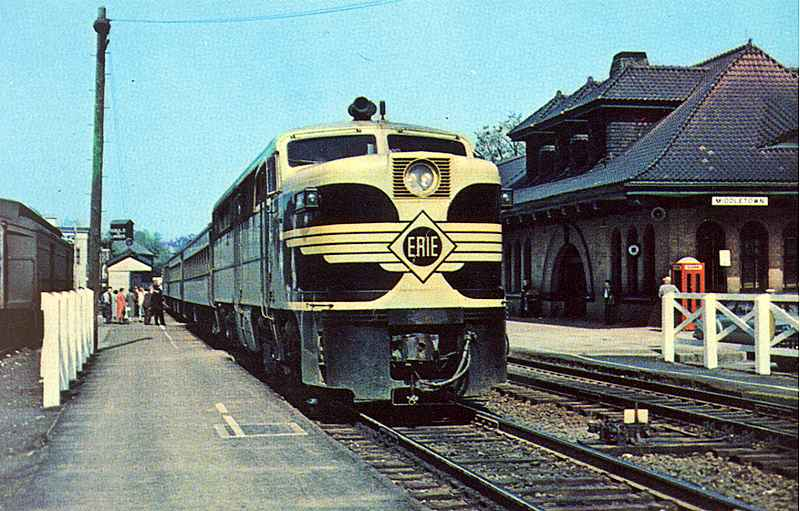 Image result for Erie railroad PA locomotives
