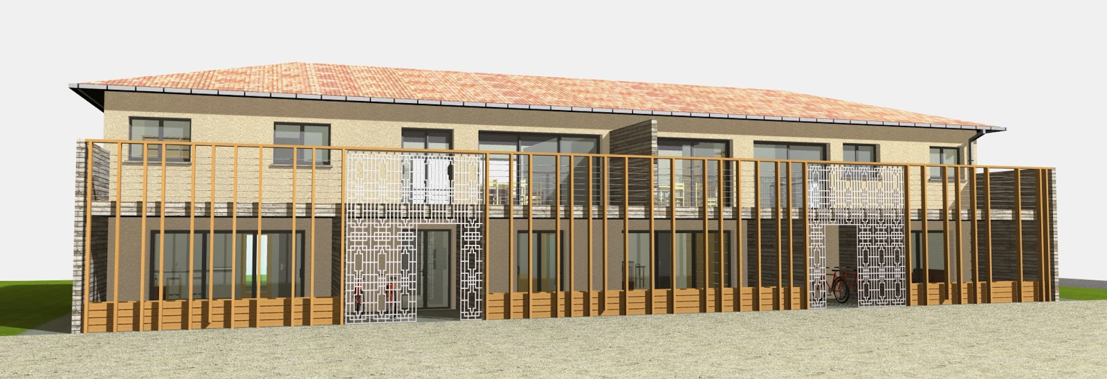 architecte p rigueux julien flahaut immeuble de logements boulazac. Black Bedroom Furniture Sets. Home Design Ideas