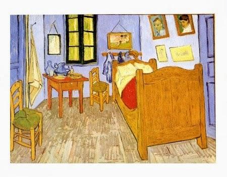 Sunset at montmajour 125 anni dopo vincent colpisce - Van gogh camera da letto ...