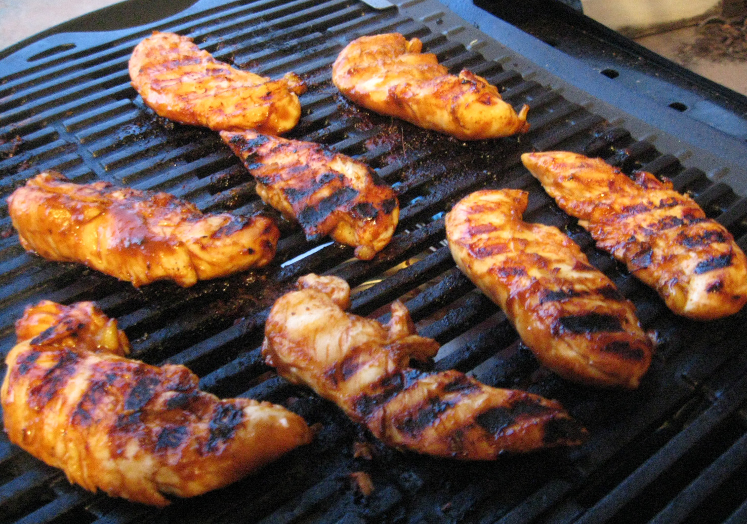Barbecued Chicken On The Grill Recipe — Dishmaps