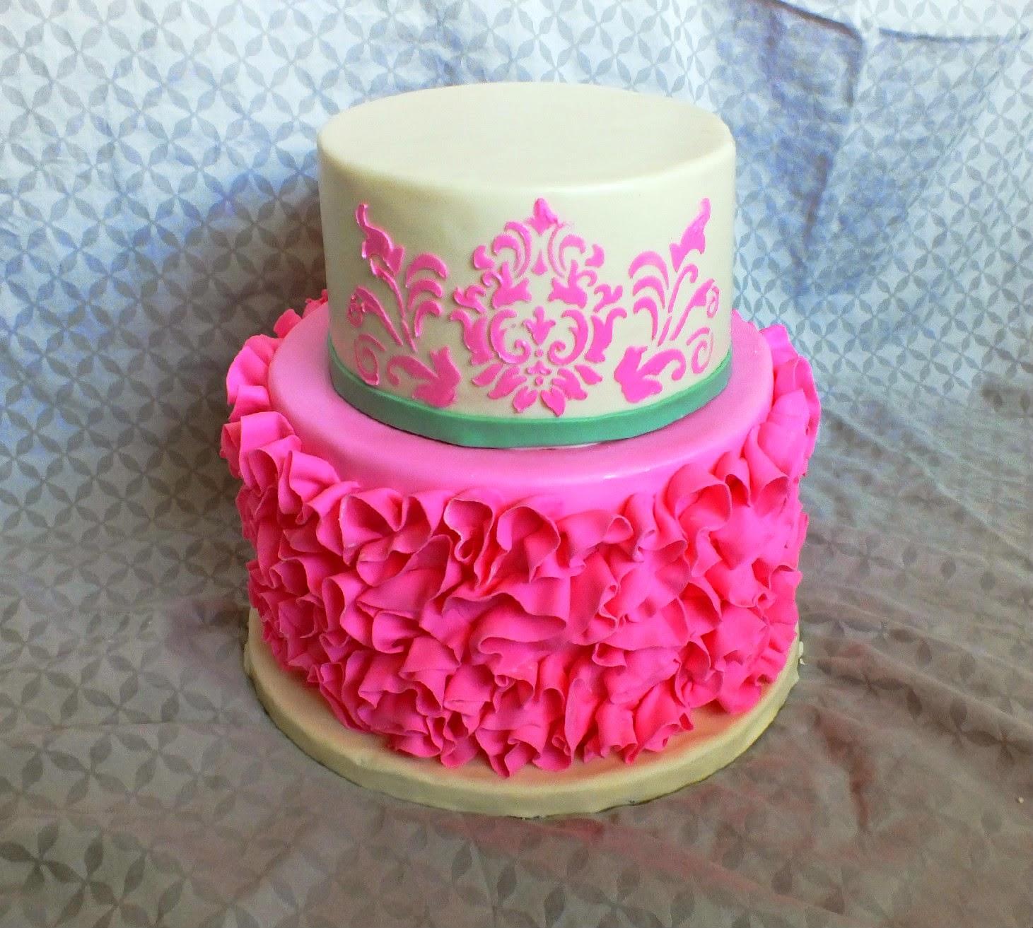 Sweet Bottom Cakes Pretty In Pink Birthday Cake